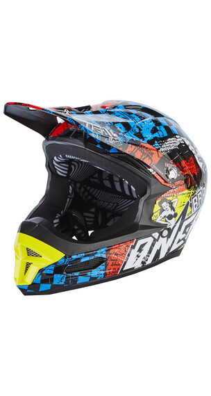 ONeal Fury RL helm Wild rood/blauw